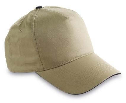 Cap With Sandwich Peak