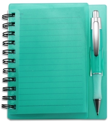 Small Lined Notepad with Frosted Cover