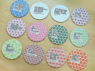 Promotional Coasters Help Travellers Enjoy their Holidays #CleverPromoGifts