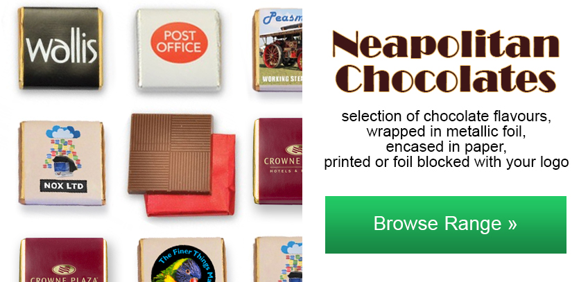 Promotional Neapolitan Chocolates