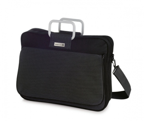 Metal Plate Pocket Briefcase