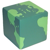 Cube World Stress Toy