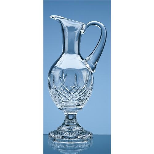 35cm Lead Crystal Panel Claret Jug
