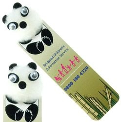 Panda Logo Bug Bookmark