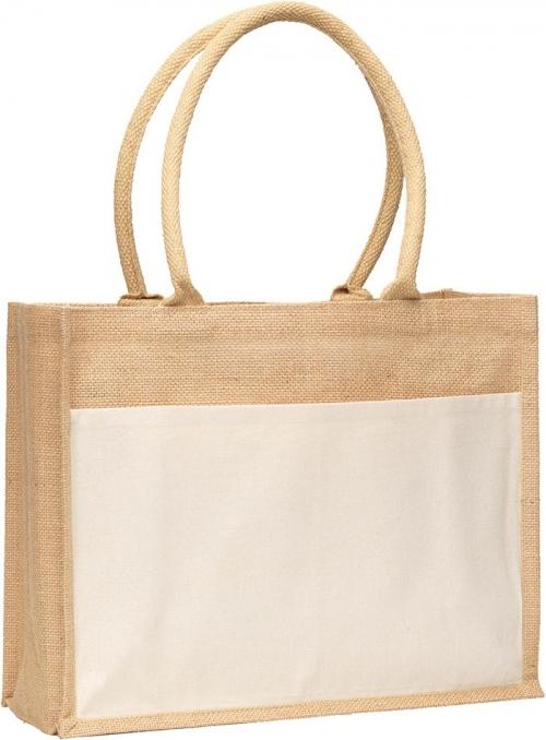 Upchurch Jute Tote Bag