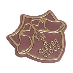 Shaped Badge within 50 x 60 mm