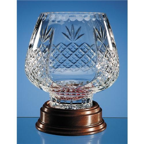 18.5cm Lead Crystal Panel Trophy Comport