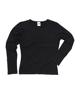 Ladyfit Long Sleeved Crew Neck