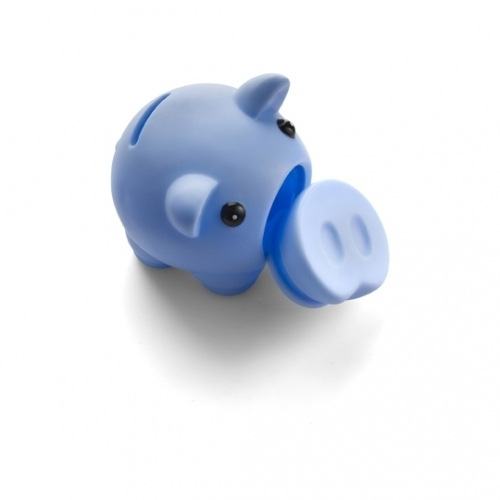 Plastic Pig Money Box