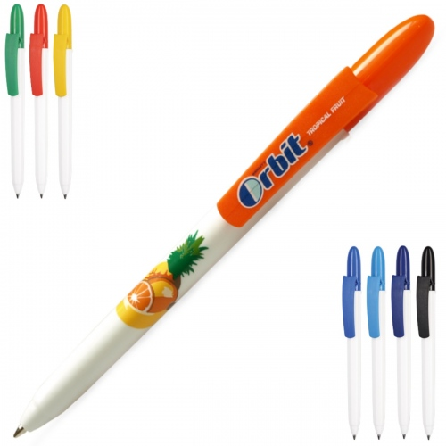 Fill White Ballpoint Pen