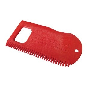 Surfboard Wax Comb And Bottle Opener