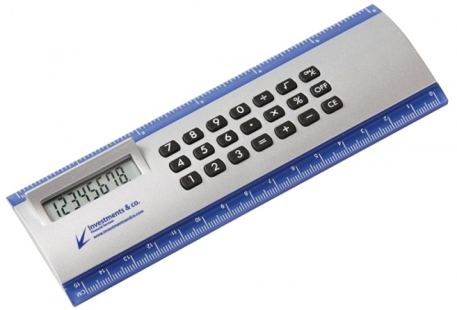 Medium Calculator Ruler