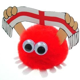 England Supporter Handy Logo Bug