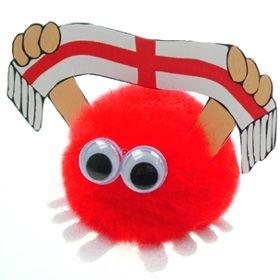 England Supporter Handy Logo Bug