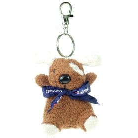 11 cm Keychain Gang - Dog with Bow