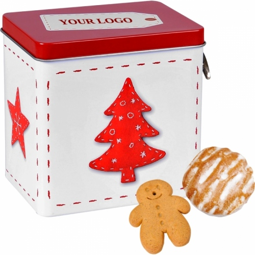 Silent Night Gingerbread Box