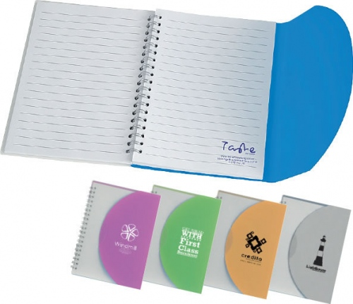 Small Curve Notebook with a PP Cover