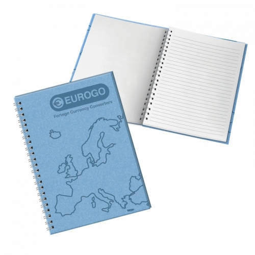 Verona Heat Stamp A5 Notebook