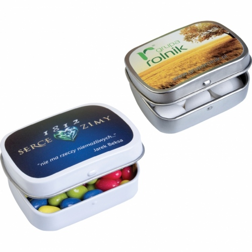 Mini Fruit and Mint Pastilles in a Mini Tin