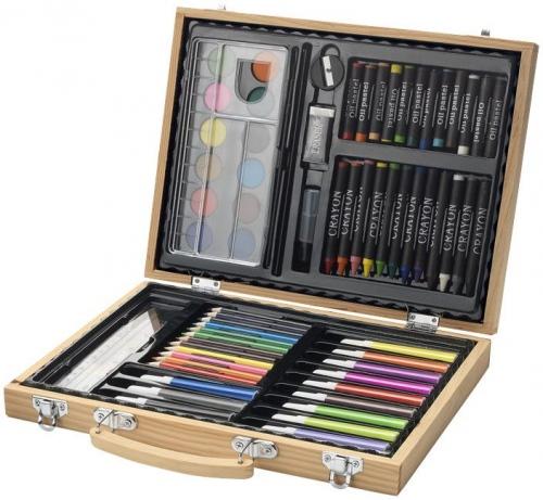 Rainbow 67-Piece Colouring Set