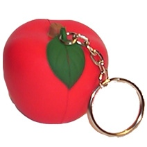 Apple Keyring Stress Toy
