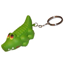 Crocodile Keyring Stress Toy