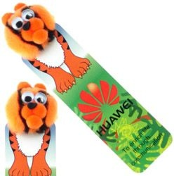 Tiger Logo Bug Bookmark