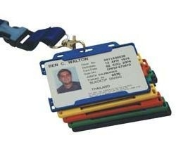 Cardholder Security Card Badge Holder