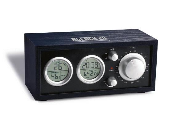 Desk Radio With LCD Clock