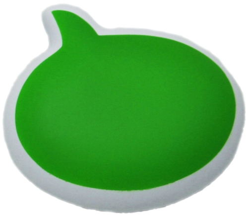 Text Bubble Toys For Tots : Speech bubble stress toy uk corporate gifts