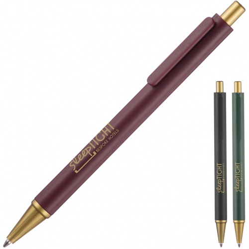 Hospitality Pen with Gold Tip