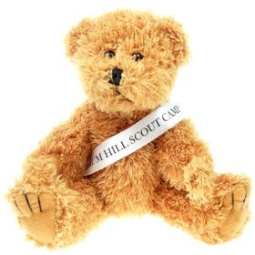 20 cm Sparkie Jointed Bear with Sash
