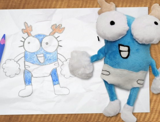 Promotional Soft Toys Designed by Kids Are Very #CleverPromoGifts for Cartoon Network