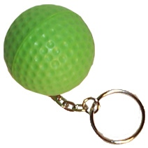 Golf Ball Keyring Stress Toy