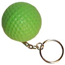 Golf Ball Keyring Stress Toy