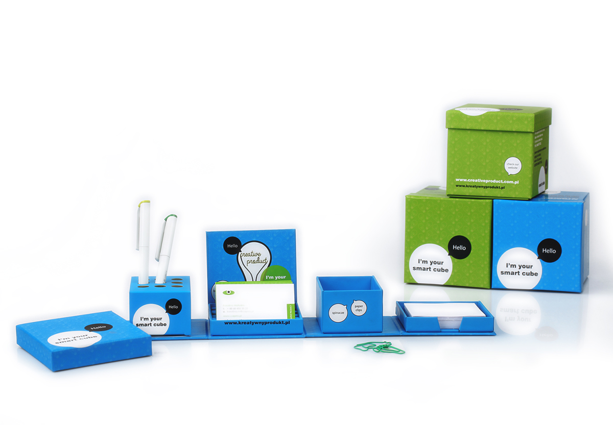 Smart Cube - Foldable Desk Tidy