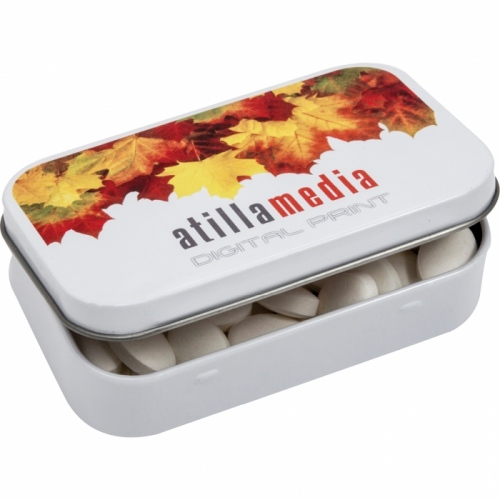 Jelly Sweets in a Rectangular Tin