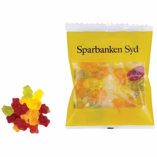 Mini Jelly Bears in a Bag