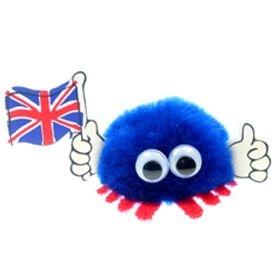 British Flag Handy Logo Bug