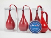 Promotional Christmas Baubles Remind People to Give Blood #CleverPromoGifts