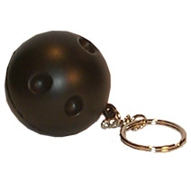 Bowling Ball Keyring Stress Toy