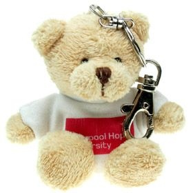 10 cm Toby Keyring Bear in a T-Shirt