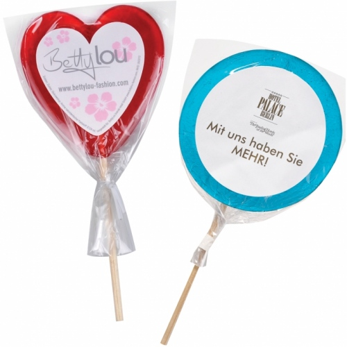 Mini Lollipop with Label