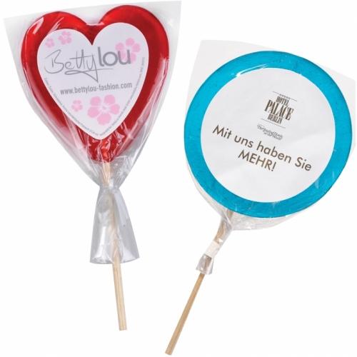 Mini Lollipop with Label