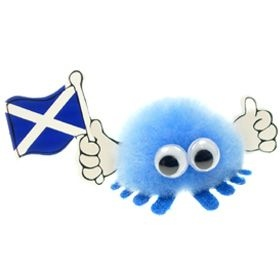 Scotsman Flag Handy Logo Bug