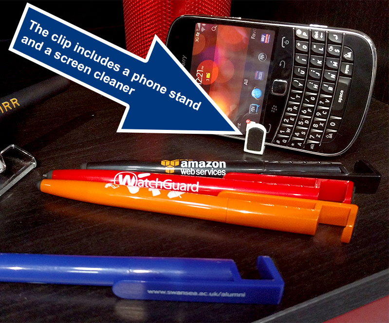 Promotional Pen with Phone Stand