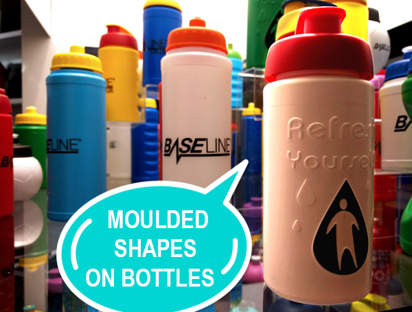 Sports Bottles with Moulded Logo
